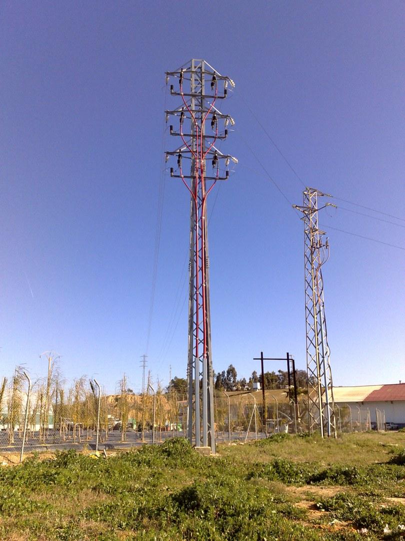 Ejecución de LAMT D/C para mejora Infraestructura eléctrica en Moguer
