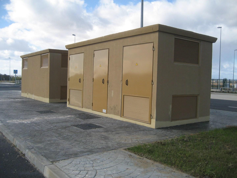 Instalaciones de MT y AT de LAMT D/C de 66Kv, Subestación y Centros de transformación en Polígono de La Jara de Moguer